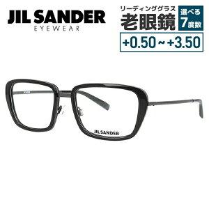 【選べる無料レンズ → PCレンズ・伊達レンズ・老眼鏡レンズ】 ジルサンダー メガネフレーム JIL SANDER J2002-A 54サイズ 調整可能ノーズパッド メンズ レディース
