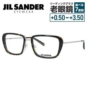【選べる無料レンズ → PCレンズ・伊達レンズ・老眼鏡レンズ】 ジルサンダー メガネフレーム JIL SANDER J2002-B 54サイズ 調整可能ノーズパッド メンズ レディース