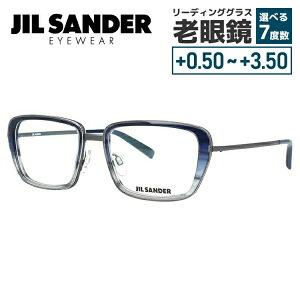 【選べる無料レンズ → PCレンズ・伊達レンズ・老眼鏡レンズ】 ジルサンダー メガネフレーム JIL SANDER J2002-C 54サイズ 調整可能ノーズパッド メンズ レディース