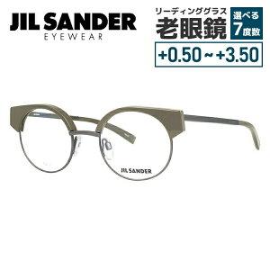 【選べる無料レンズ → PCレンズ・伊達レンズ・老眼鏡レンズ】 ジルサンダー メガネフレーム JIL SANDER J2006-C 48サイズ 調整可能ノーズパッド メンズ レディース