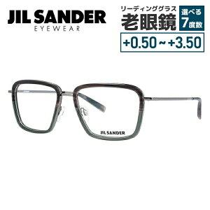 【選べる無料レンズ → PCレンズ・伊達レンズ・老眼鏡レンズ】 ジルサンダー メガネフレーム JIL SANDER J2007-D 55サイズ 調整可能ノーズパッド メンズ レディース