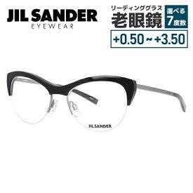 【期間限定ポイント10倍】【選べる無料レンズ → PCレンズ・伊達レンズ・老眼鏡レンズ】 ジルサンダー メガネフレーム JIL SANDER J2010-A 54サイズ 調整可能ノーズパッド レディース