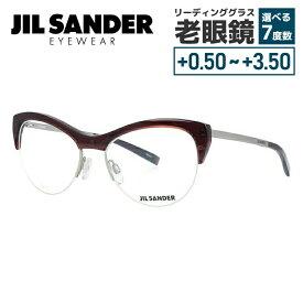 【期間限定ポイント10倍】【選べる無料レンズ → PCレンズ・伊達レンズ・老眼鏡レンズ】 ジルサンダー メガネフレーム JIL SANDER J2010-D 54サイズ 調整可能ノーズパッド レディース