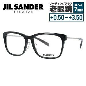 【選べる無料レンズ → PCレンズ・伊達レンズ・老眼鏡レンズ】 ジルサンダー メガネフレーム JIL SANDER J4011-A 55サイズ レギュラーフィット メンズ レディース