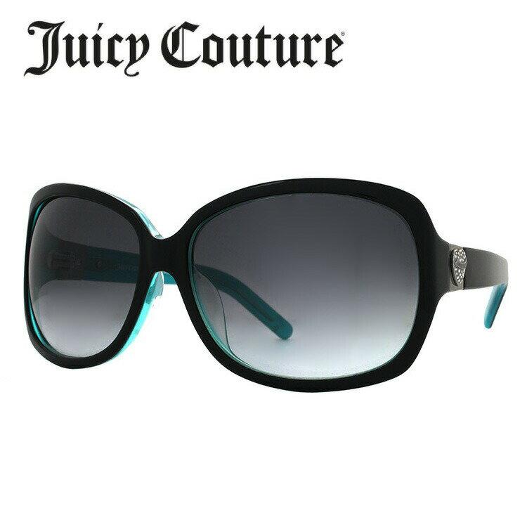 ジューシークチュール サングラス JUICY COUTURE SIENNAFS EL9/JJ ブラック・ターコイズ/スモークグラデーション UVカット 新品