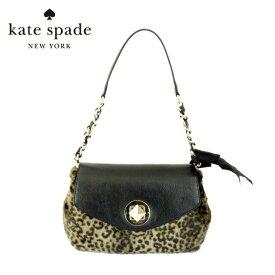 ケイトスペード ショルダーバッグ kate spade PXRU2699-072 SHARA BONSOIR CHARCOAL/CREAM/GOLD リボン