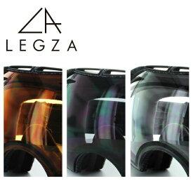 オークリーゴーグル用レンズ OAKLEY AIRBRAKE専用 交換レンズ S3 エアブレイク LEGZA製 レグザ オレンジ ダークグレー クリア ダブルレンズ 曇り止め アジアンフィット レギュラーフィット UV