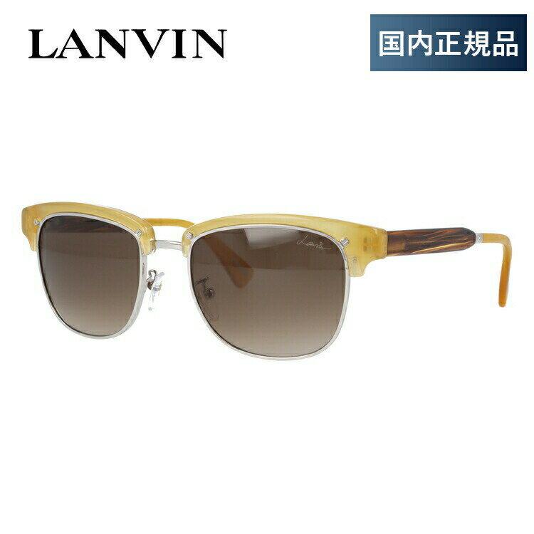 ランバン パリス サングラス レギュラーフィット LANVIN PARIS SLN689 0T91 53サイズ 国内正規品 ブロー ユニセックス メンズ レディース