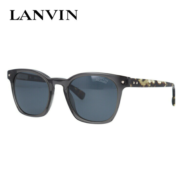 ランバン パリス サングラス 偏光サングラス レギュラーフィット LANVIN PARIS SLN733 840P 50サイズ 国内正規品 ウェリントン ユニセックス メンズ レディース