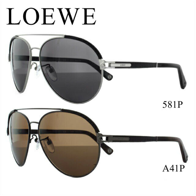 ロエベ サングラス LOEWE SLW457M 581P/A41P 偏光レンズ メンズ レディース アイウェア