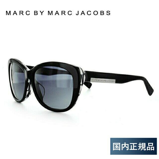 マークバイマークジェイコブス MARC BY MARC JACOBS サングラス MMJ 445FS KVF/HD 59 ブラック アジアンフィット レディース UVカット 新品