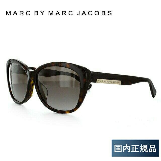 マークバイマークジェイコブス MARC BY MARC JACOBS サングラス MMJ 445FS 086/HA 59 ダークハバナ アジアンフィット レディース UVカット 新品