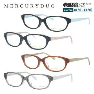 【選べる無料レンズ → PCレンズ・伊達レンズ・老眼鏡レンズ】 MERCURYDUO マーキュリーデュオ メガネフレーム MDF8023-1/MDF8023-2/MDF8023-3/MDF8023-4 オーバル レディースブランド【伊達レンズ装着時 U