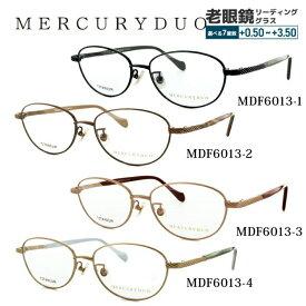 【選べる無料レンズ → PCレンズ・伊達レンズ・老眼鏡レンズ】 マーキュリーデュオ メガネフレーム MERCURYDUO MDF6013 全4カラー 52サイズ 調整可能ノーズパッド レディース