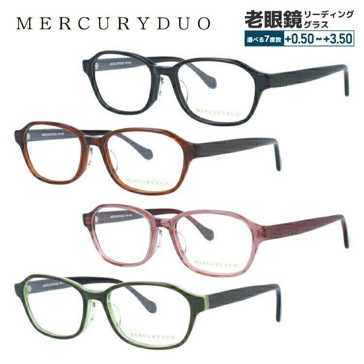 マーキュリーデュオ メガネ 伊達レンズ無料 0円 メガネフレーム MERCURYDUO MDF8032 全4カラー 51サイズ アジアンフィット レディース