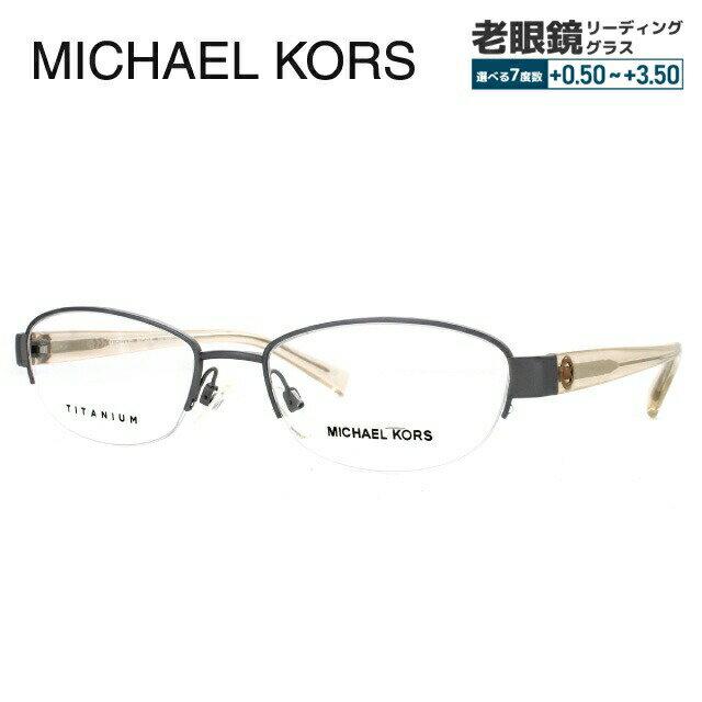 マイケルコース メガネ 伊達レンズ無料 0円 メガネフレーム アジアンフィット MICHAEL KORS MK3009TD 103 53サイズ 国内正規品 オーバル ユニセックス メンズ レディース