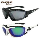 モンターニャサングラスミラーレンズアジアンフィットmontagnaMTS5001全2カラー56サイズ(スポンジ・ベルト付き)スポーツメンズレディース