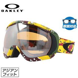 オークリー ゴーグル GOGGLE スノーゴーグル OAKLEY CANOPY キャノピー TANNER HALL Signature 59-249J High Grade/Black Iridium シグネチャー アジアンフィット (ジャパンフィット) スキー スノーボード ミラー メガネ(眼鏡)対応可