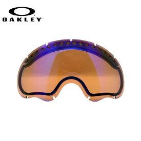 オークリー スノーゴーグル OAKLEY GOGGLE エーフレーム A FRAME 02-233 Blue Iridium REPLACEMENT LENS リプレイスメント レンズ 交換用 スキー スノーボード UV ミラー