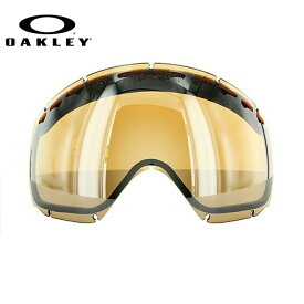オークリー スノーゴーグル OAKLEY クローバー Crowbar 02-112 Black Iridium Replacement Lens リプレイスメント レンズ 交換用レンズ 替えレンズ スペアレンズ ミラー スキー スノーボード UV