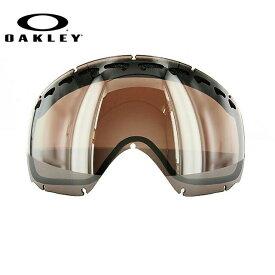 オークリー スノーゴーグル OAKLEY クローバー Crowbar 03-016 Black Rose Iridium Replacement Lens リプレイスメント レンズ 交換用レンズ 替えレンズ スペアレンズ ミラーレンズ スキー スノーボード オークレー UVカット