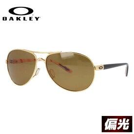 オークリー サングラス OAKLEY フィードバック FEEDBACK oo4079-08 Polished Gold/Bronze Polarized(偏光レンズ) レディース スポーツ オークレー UVカット レギュラーフィット