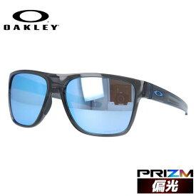 【訳あり】【海外正規品】 オークリー サングラス クロスレンジ XL 偏光サングラス プリズム ミラーレンズ レギュラーフィット OAKLEY CROSSRANGE XL OO9360-2458 58サイズ スクエア ユニセックス メンズ レディース