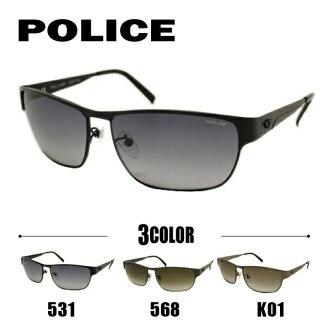 警察太陽眼鏡POLICE S8584G 0531/S8584G 0568/S8584G 0K01人竹莢魚安合身國內正規的物品UV cut