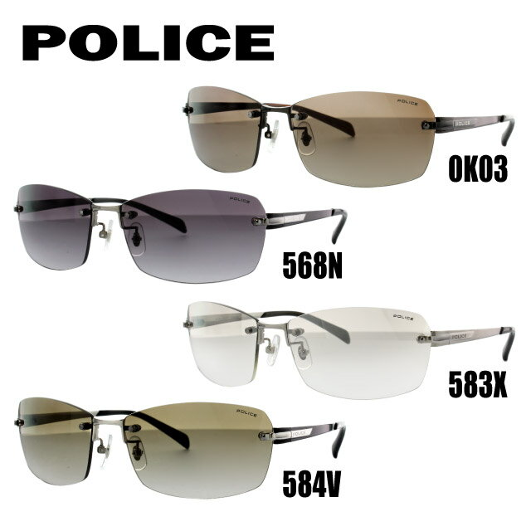 国内正規品 ポリス サングラス POLICE SPL269J 0K03/568N/583X/584V 60 アジアンフィット メンズ アイウェア 新品
