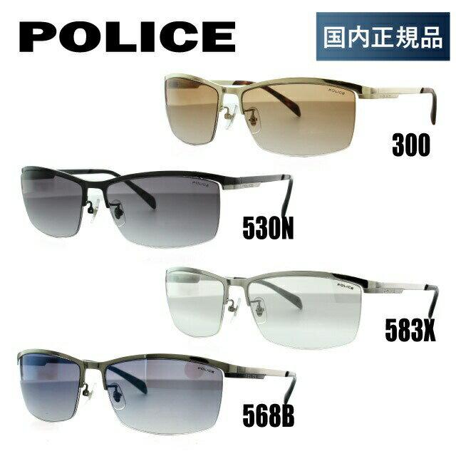 国内正規品 ポリス サングラス POLICE SPL273J 300/530N/583X/568B 60 アジアンフィット メンズ アイウェア 新品