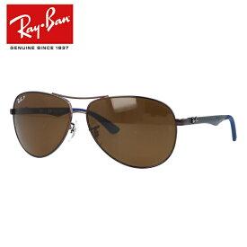 国内正規品 レイバン Ray-Ban サングラス テック カーボンファイバーTECH CARBON FIBRE RB8313 014/N6 61 ブラウン/ブラウン 偏光レンズ メンズ レディース RayBan UVカット