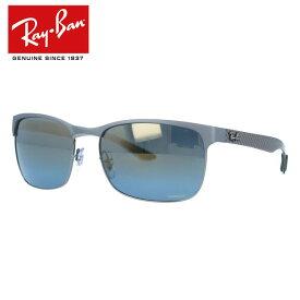国内正規品 レイバン サングラス クロマンス 偏光サングラス ミラーレンズ Ray-Ban CHROMANCE RB8319CH 9075J0 60サイズ スクエア ユニセックス メンズ レディース