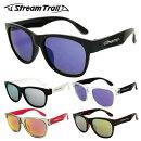 ストリームトレイルサングラスミラーレンズアジアンフィットStreamTrailST3002全5カラー54サイズウェリントンユニセックスメンズレディース