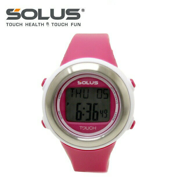ソーラス SOLUS 腕時計 01-850-004 ピンク メンズ レディース スポーツ ダイエット エクササイズ 国内正規品 【1年保証付き】