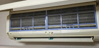 プロ仕様・エアコン用帯電ウイルスフィルター【家庭用エアコン掃除不要フィルター除菌洗浄不要内部消臭カビ菌ウイルス洗浄剤業務用】サイズ30×30センチ、2枚組材質ポリプロピレン燃えるゴミで出せます。家庭用エアコンに対応