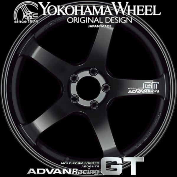 ADVAN Racing GT アルミホイール 20×9.5J 5/114.3 +29 セミグロスブラック