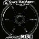 ヨコハマ アドバン レーシング RG3 RGIII アルミホイール 17×7.5J 5/114.3 +48 レーシンググロスブラック