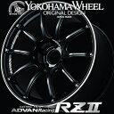 ADVAN Racing RZ2 RZII アルミホイール 18×9.5J 5/114.3 +35 レーシンググロスブラック&リング