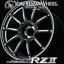ADVAN Racing RZ2 RZII アルミホイール 17×9.0J 5/114.3 +45 レーシングハイパーブラック&リング