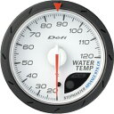 デフィ Defi -Link メーター アドバンス CR Φ60 白 水温計