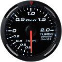 デフィ メーター レーサーゲージ (Racer Gauge) Φ52 ホワイト ターボ計 送料無料