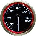 デフィ Defi レーサーゲージN2(Racer Gauge) Φ52 ホワイト(文字外周とリング部分はレッド) 温度計 (油温計・水温計…
