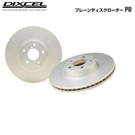 DIXCEL ディクセル PD ブレーキディスクローター パジェロ V25C 94/7〜96/2 フロント用左右1セット
