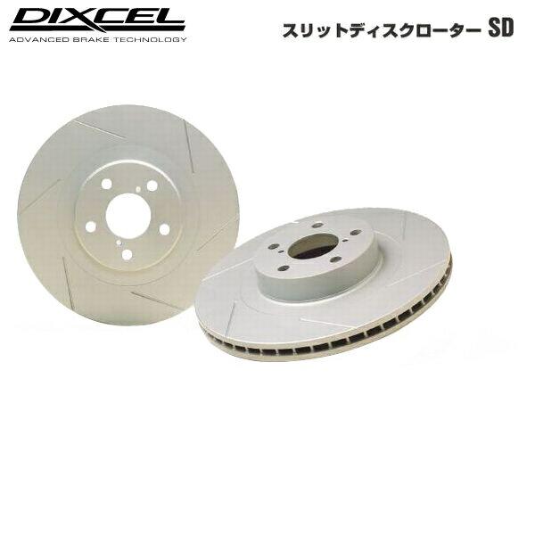 DIXCEL ディクセル SD ブレーキディスクローター パジェロ V25C 94/7〜96/2 リア用左右1セット