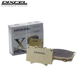 DIXCEL ブレーキパッド Xタイプ フロント用 ランドクルーザー FJ43V 3900〜4200 69/3〜80/7 離島・沖縄配送不可