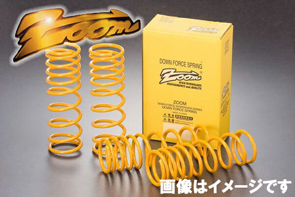 ZOOM ダウンフォースサス 1台分 サニー FNB15 QG15DE H14/10〜 4WD サスペンション