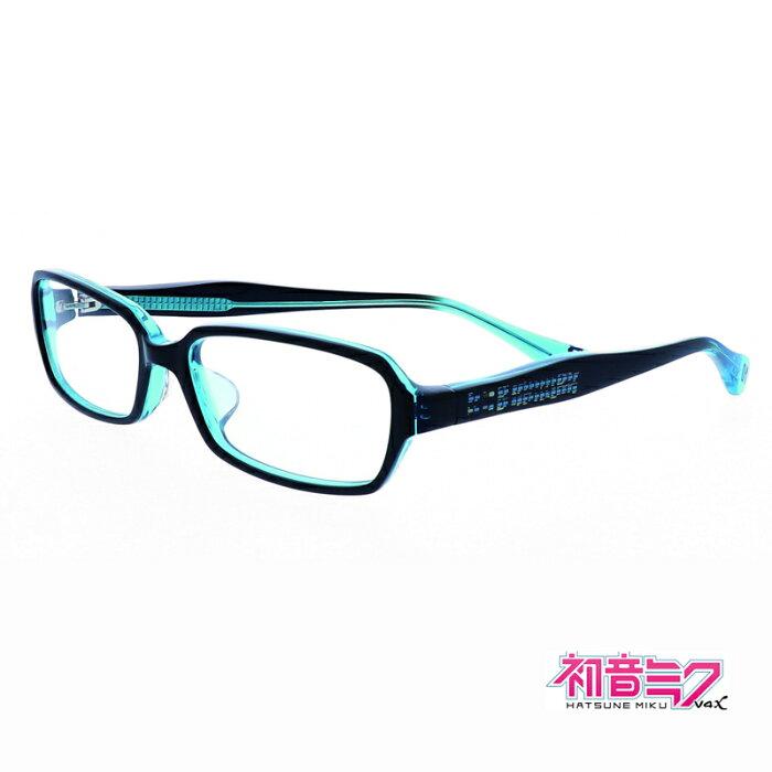 【初音ミク】初音ミク グッズ PCメガネ HM-V4X ブルーライトカット
