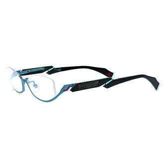 Hatsune Miku goods PC glasses metal blue light cut