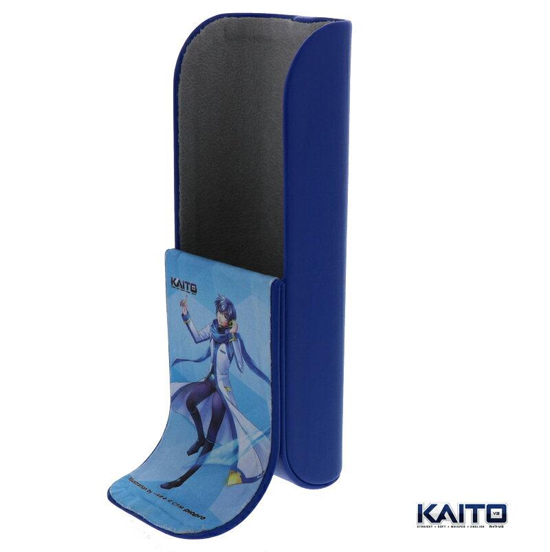 【スタンドメガネケース KAITO】初音ミク グッズ KAITO メガネケース 初音ミクスタンド メガネスタンド かわいい