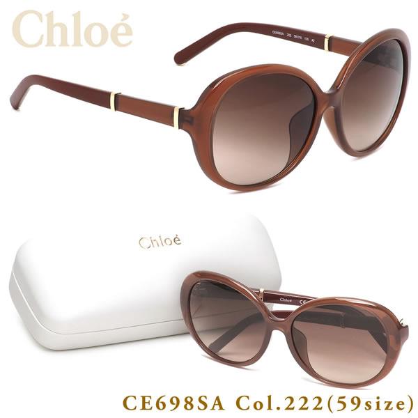 クロエ Chloe サングラスCE698SA 222 59サイズASIAN FIT STYLES アジアンフィット 小顔 フルフィットクロエ Chloe メンズ レディース